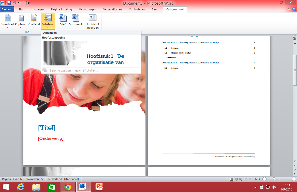 rtf word template rapport word template huisstijl in office