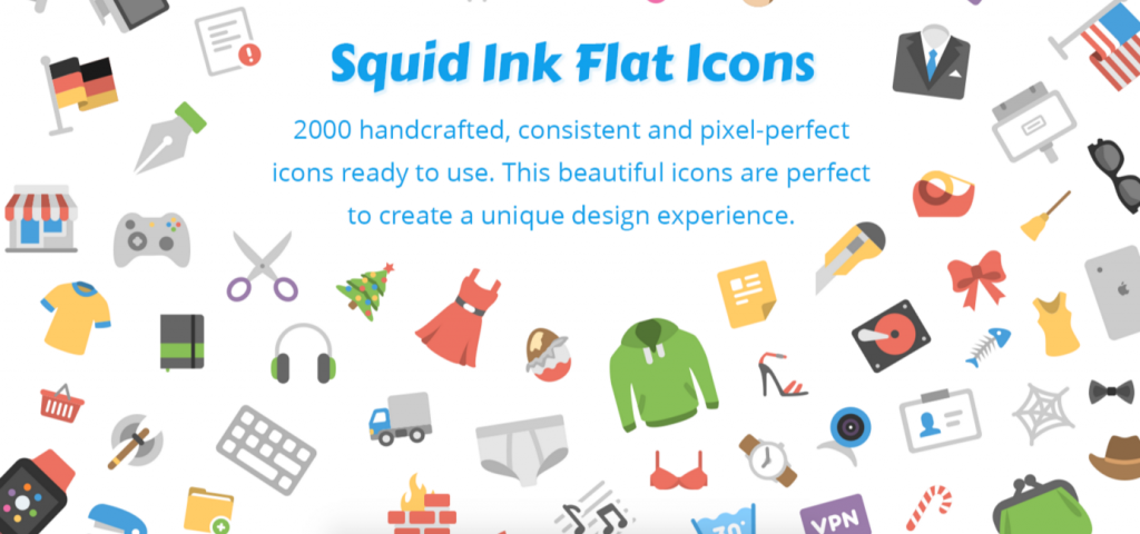 Squid Ink iconen voor PowerPoint