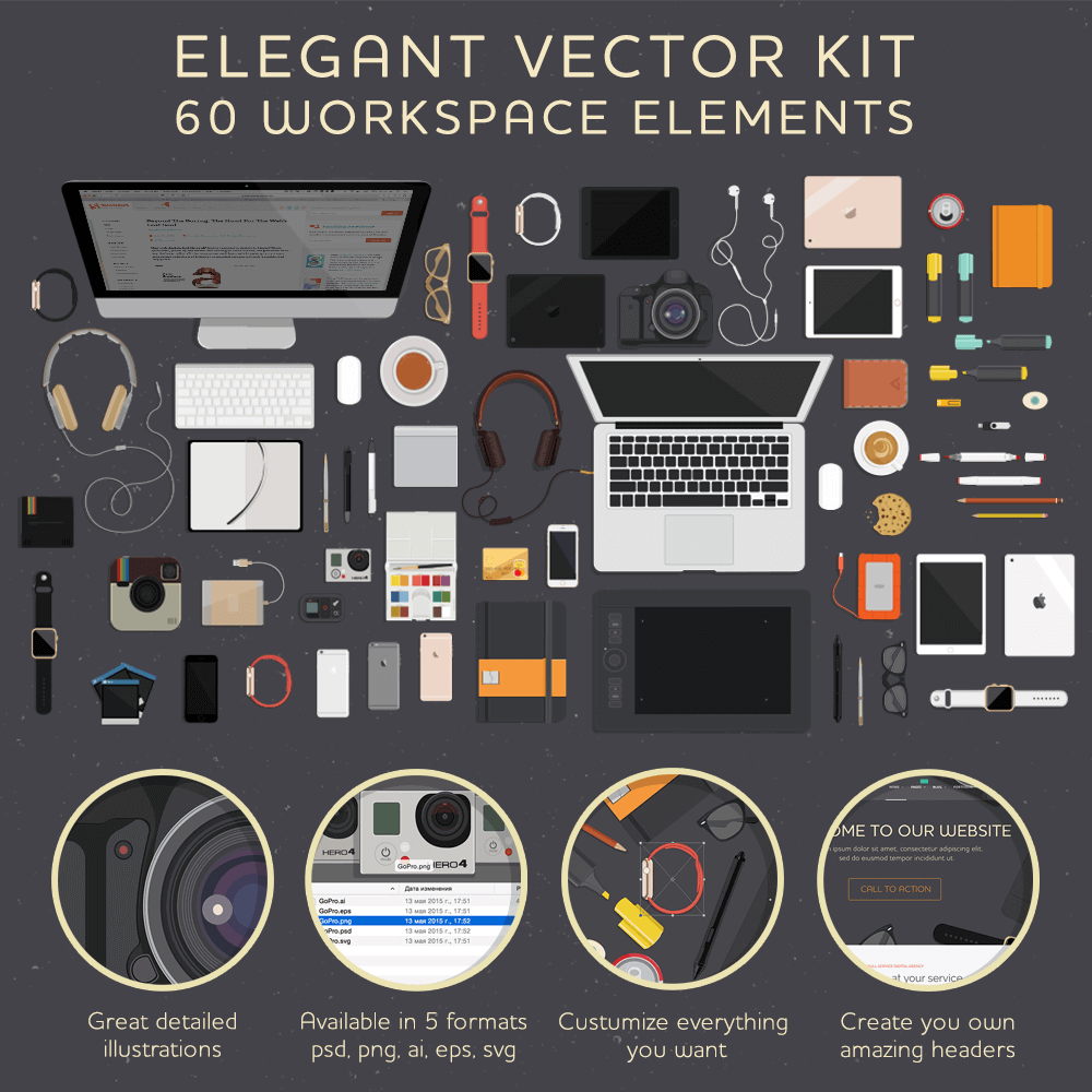 Elegenante-vector-kit-PowerPoint-pictogrammen